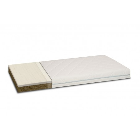 COCONUT MATTRESS WITH LATEX MAT