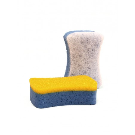 Double sided sponge
