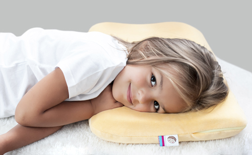 Poduszka dla dziecka z pianki memory